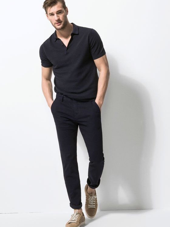 남성적인느낌의 남자 블랙 패션