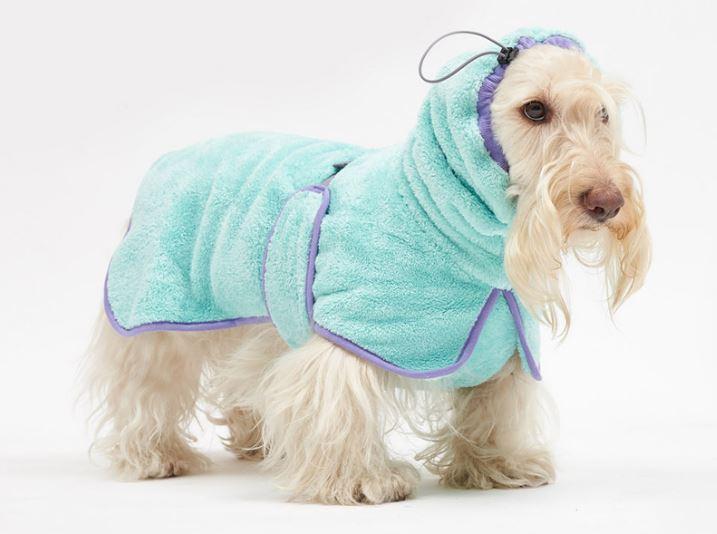 반려견 여름 피수품 강아지 샤워가운 뮤니쿤트