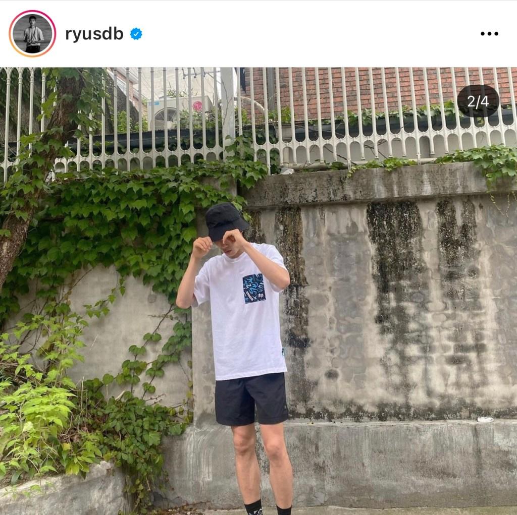 남자 여름 장마 류준열 코디
