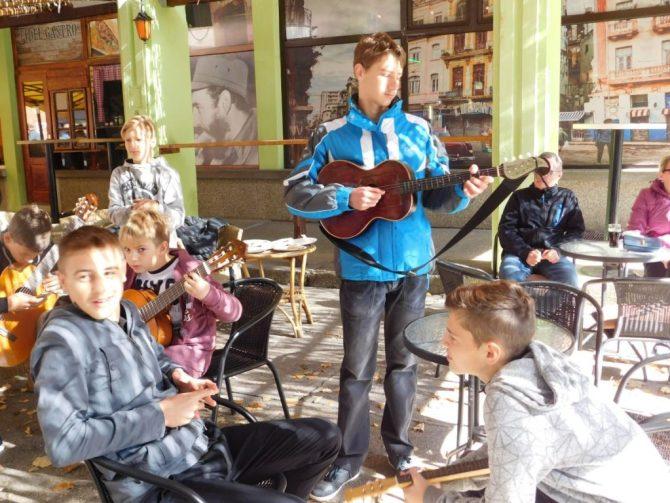 Učenici glazbene škole sudjelovali na Sajmu bundeva