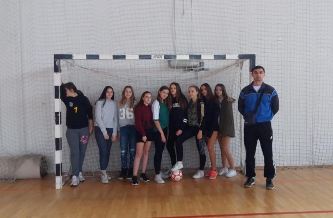 Međuopćinsko natjecanje u futsalu za djevojčice