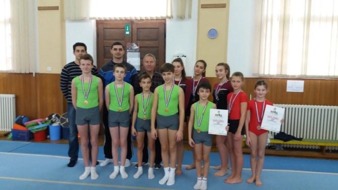 Odlični u konkurenciji mladića i djevojaka na županijskom natjecanju iz gimnastike