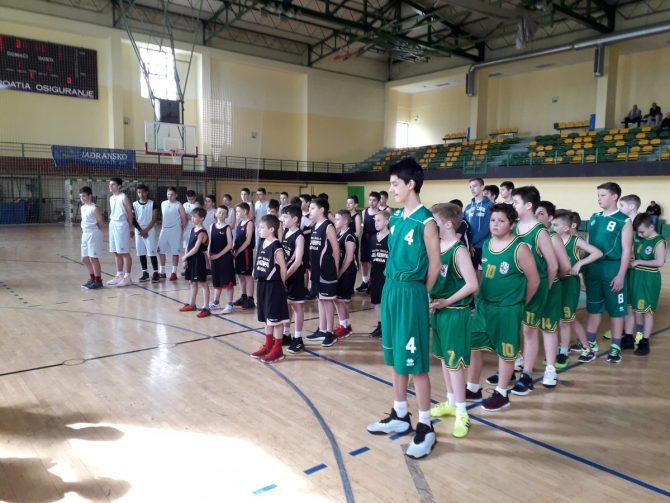Poluzavršno natjecanje u košarci za dječake  5. i 6. razreda,  3. travnja 2019. (Valpovo)