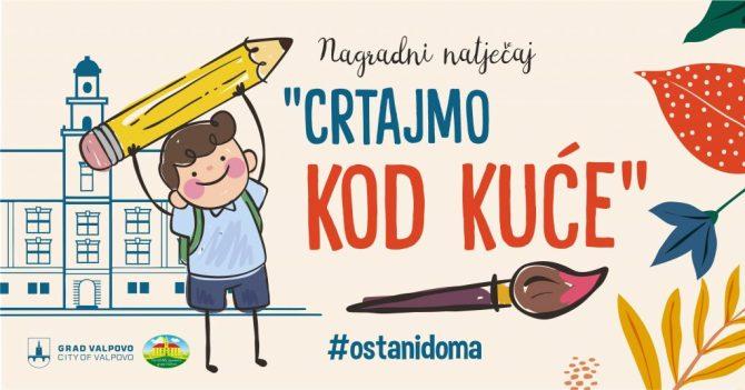 """Nagradni natječaj Turističke zajednice grada Valpova: """"Crtajmo kod kuće"""""""