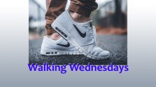 Walking Wednesdays graphic