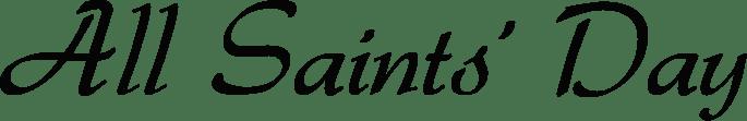 All Saints' Day logo