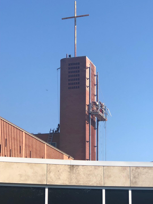 Bell Tower repairs photo