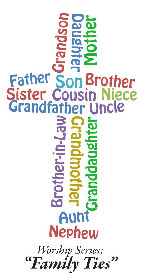 Family Ties worship series graphic
