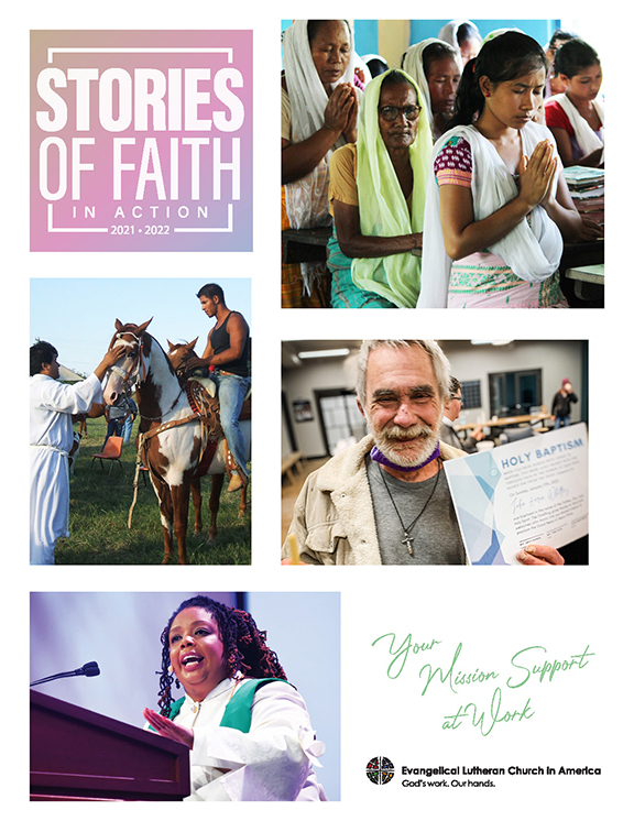 Stories of Faith in Action cover