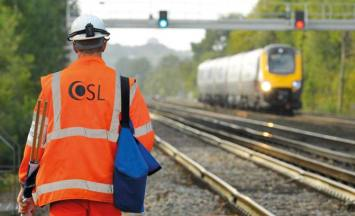 OSL Rail track photography for signalling expertise