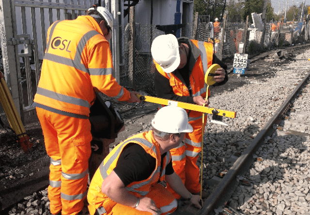 OSL track work cabling and signalling upgrades