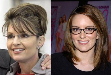 Sarah Palin (vlevo) a Tina Fey