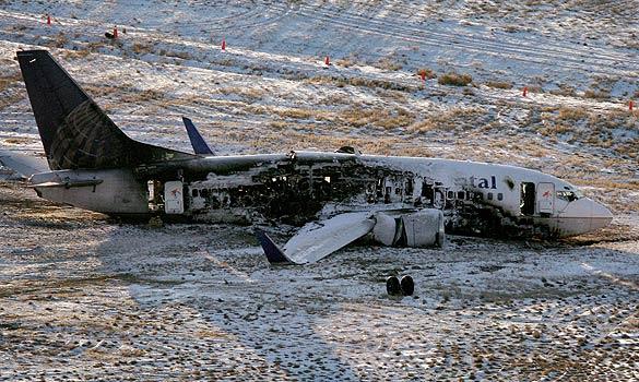 Zato z druhé... Ouvej! (foto Preston Gannaway/Rocky Mountain News/AP).
