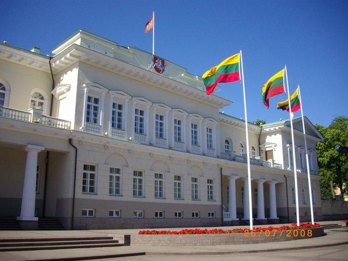 Prezidentský palác ve Vilniusu, sidlo litevského prezidenta