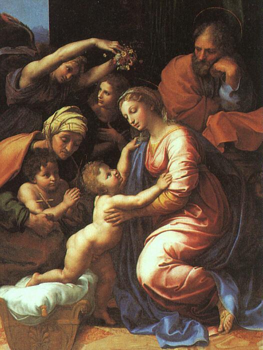 Židovská rodina (Rafael, Svatá rodina)