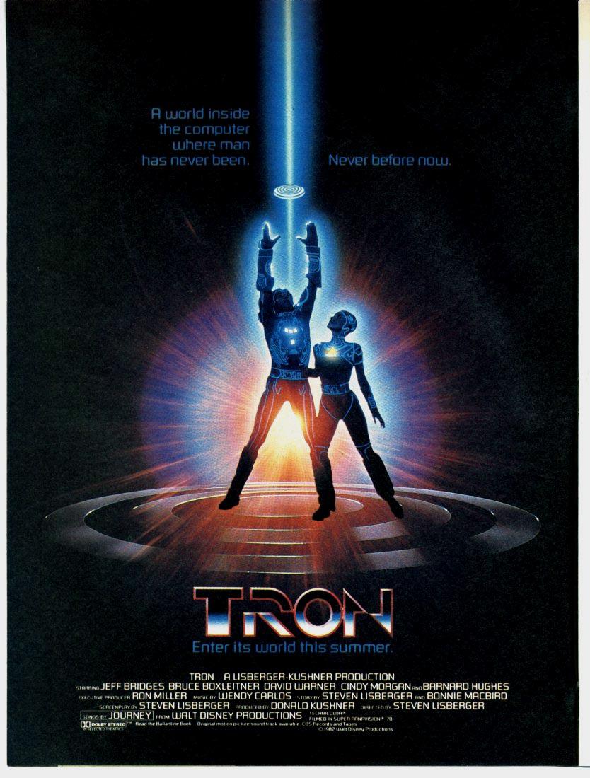 Tron - plakát z roku 1982