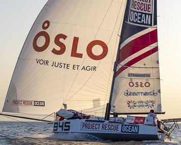 Voilier Oslo mini transat 2019