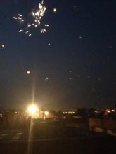 Fireworks everywhere!!