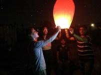 My first paper lantern :)