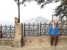 Me & the monkey