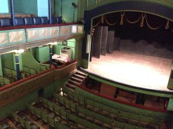 The beautiful refurbished Gaiety Theatre