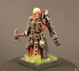 Fantasy-klassen, 1. plass: Eiriks Forgeworld limited ed. Warrior Priest
