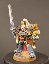 Sci-fi-klassen, 2. plass: Brage for sin Space Wolf.