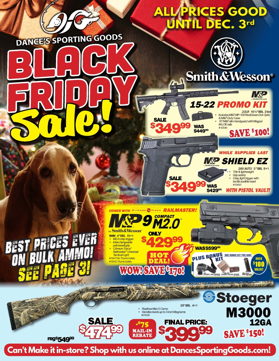 Dance's Sporting Goods Black Friday Sale – Outdoor Sports