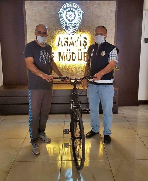 Osmaniye'de bisiklet hırsızı yakalandı