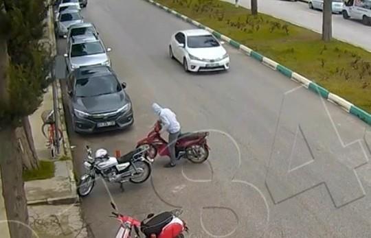 Suç makinesi hırsızlık zanlısı 112 kamera incelenerek yakalandı
