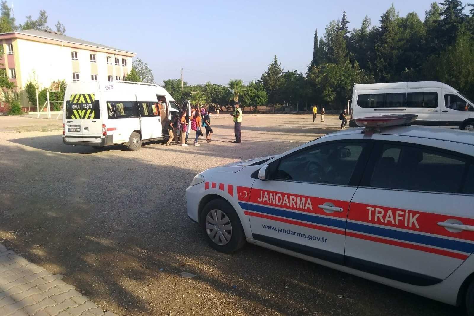 Osmaniye'de 468 okul servisi denetlendi