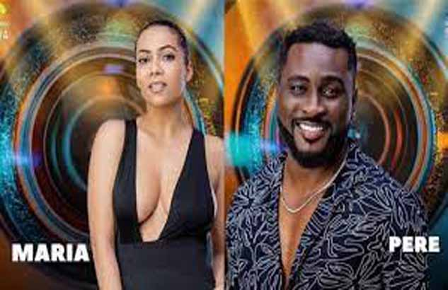 #BBNaija: What Maria told Pere after he switched off his microphone revealed
