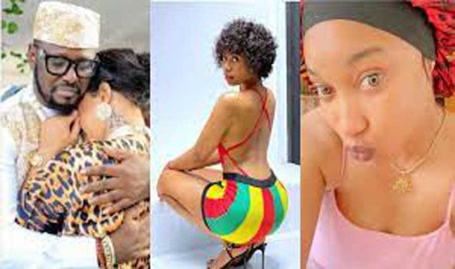 Prince Kpokpogri has so much of your sex tapes in his possession -Tonto Dikeh tells dancer, Janemena