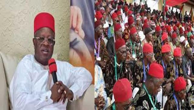 2023: Umahi, Ohanaeze youth, vow to make Igbo land peaceful