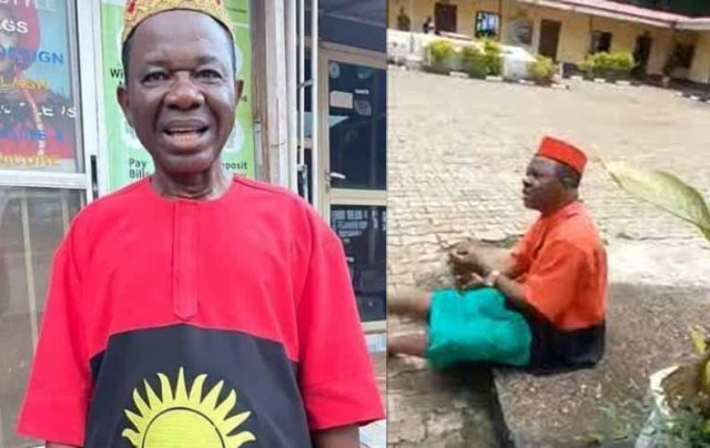 It's a civil dress and not a Biafra regalia — Actor Chiwetalu Agu says, after he was arrested in Onitsha, Anambra State