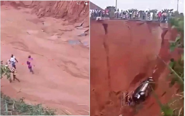 Huge Relief: No life lost as bus falls into a ditch in Imo State