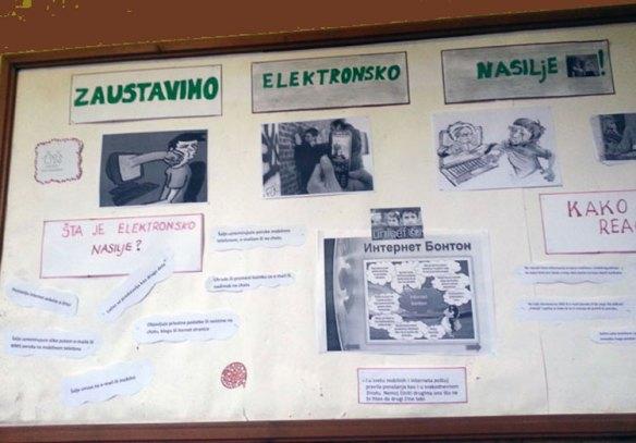 Заштита од електронског насиља - октобар '19.