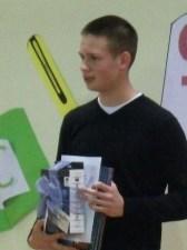 Богдан Момчиловић, ученик генерације 2012/13. годинине