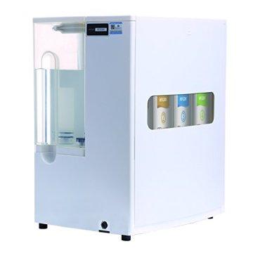 Mobile Umkehrosmoseanlage ohne Festwasseranschluss R.O.POT. Die ideale Lösung für Mietwohnungen, Reisende und kleine Haushalte (Weiß) - 4