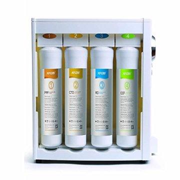 Mobile Umkehrosmoseanlage ohne Festwasseranschluss R.O.POT. Die ideale Lösung für Mietwohnungen, Reisende und kleine Haushalte (Weiß) - 8