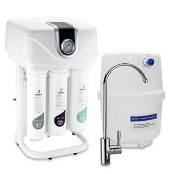 smardy PRO 190 Quick Change Umkehrosmose Wasserfilter 5 Stufig Schnellwechselfilter - 1
