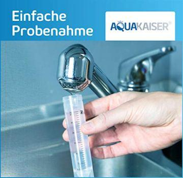 Aquakaiser Wasser Test auf Schwermetalle - Wassertest auf Blei, Kupfer, Eisen und andere metallische Leitungsmaterialien - 3