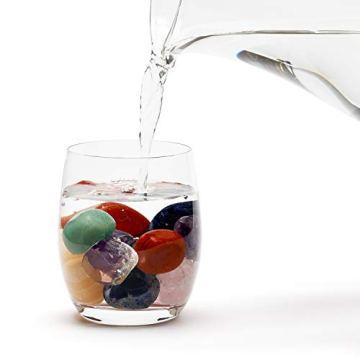 Großes Wasseredelstein-Set | Mischung mit 7 beliebten Sorten | Premium Wassersteine zur Herstellung von Edelsteinwasser | Edelsteine - 3