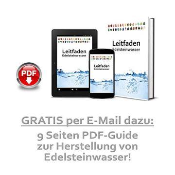 Großes Wasseredelstein-Set | Mischung mit 7 beliebten Sorten | Premium Wassersteine zur Herstellung von Edelsteinwasser | Edelsteine - 6