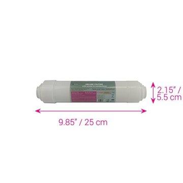 Water2buy Universal 5Stufen Umkehrosmose komplett Wasser Filter Ersatz-Set, weiß, 5Stück - 2