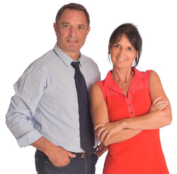 Catherine et Pascal Lefeuvre, coachs certifié pour les entrepreneurs, dirigeants de PME,...