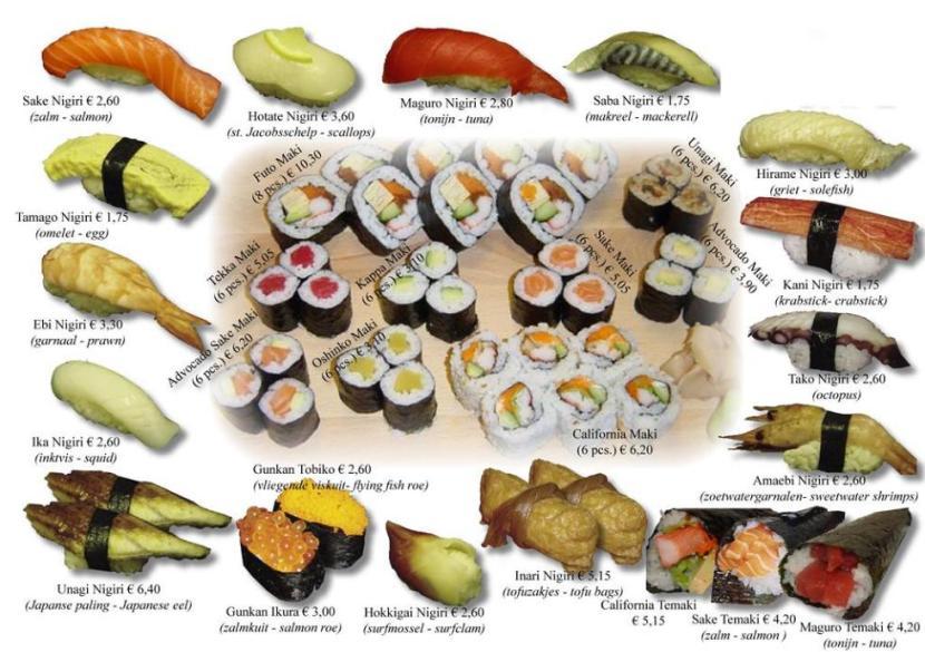 types_of_sushi