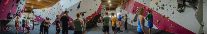 Panorama-Aufnahme Boulderhalle OSNABLOC