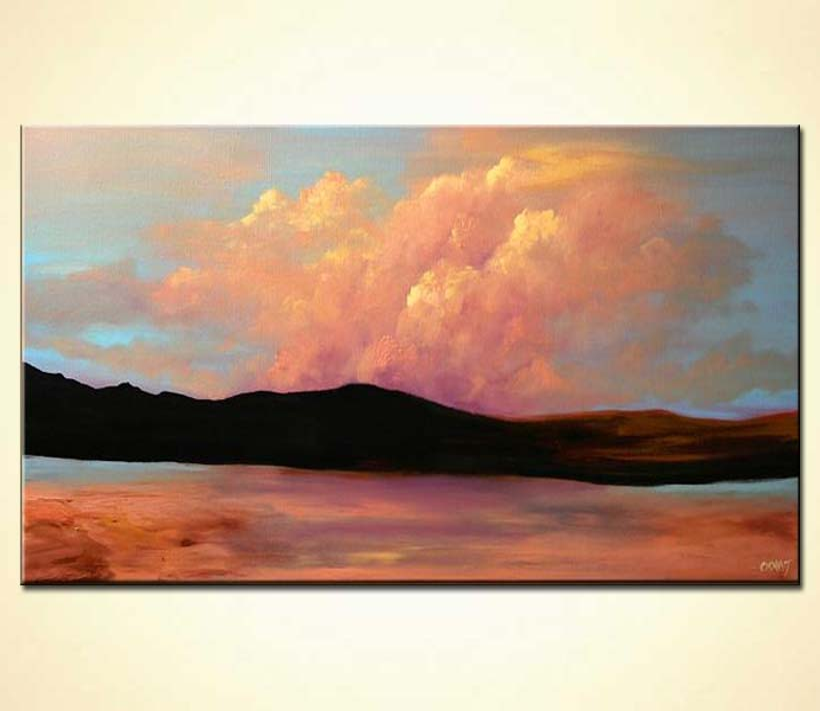 Buy clouds landscape painting east home decor 5580