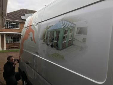 fox windows and doors van fitting